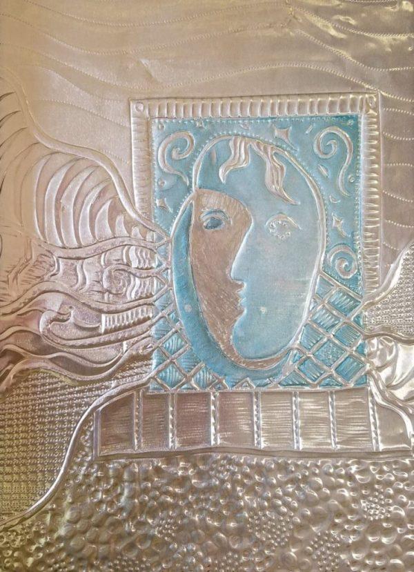 Blue Girl wall art