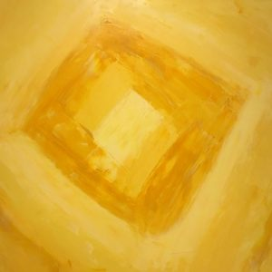 Hungry for Yellow, oil on canvas