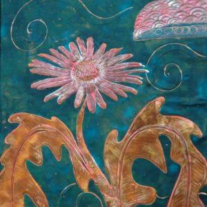 Upsy Daisy by Darcy Meeker Fine art