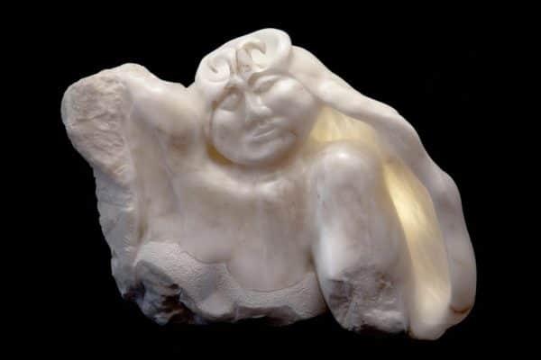 Queen of Heaven, Italian crystal alabaster