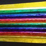 Rainbow Colored Sculptures Blacksburg VA